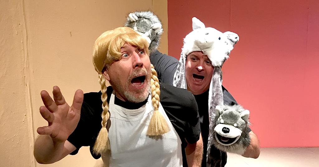 Jim Dahman and John Shade in Furry Tales: With a Twist